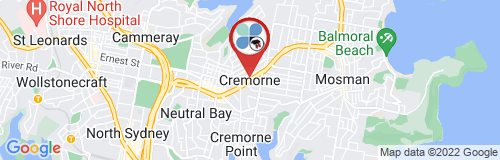 Cremorne google map