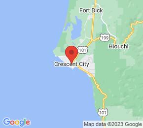 Job Map - Crescent City, California  US