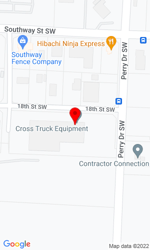 Google Map of Cross Truck Equipment Co 1801 Perry Dr. SW, Canton, OH, 44706,