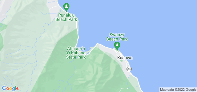Crouching Lion Trail, Ahupua′a ′O Kahana State Park, North Shore em Oahu, Hawaii, EUA