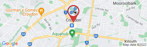 Croydon google map