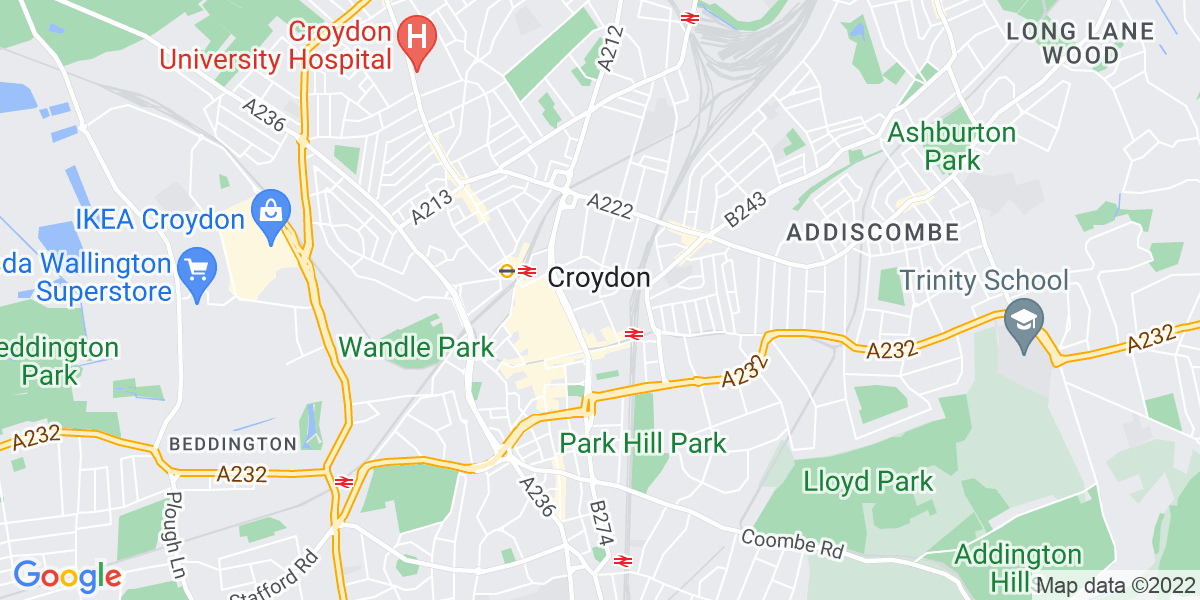 Map: Ecologist -  job role in Croydon