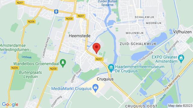 Heemstede op Google Maps
