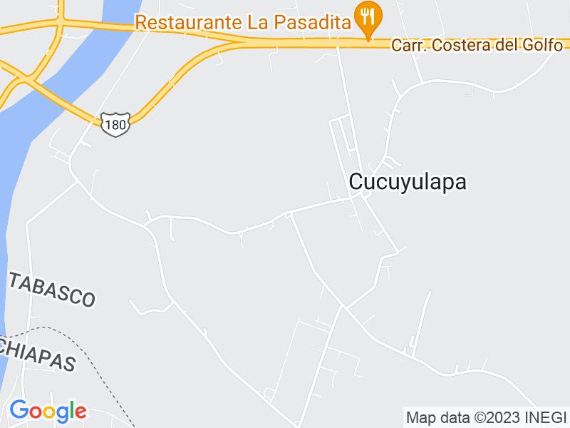 Cucuyalapa 1ra. Sección, Tabasco