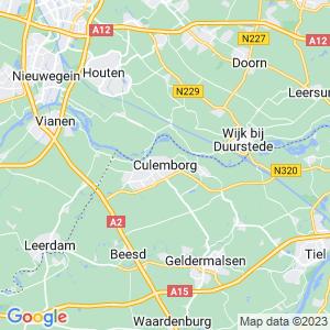 Werkgebied van onze bestrijder in Culemborg