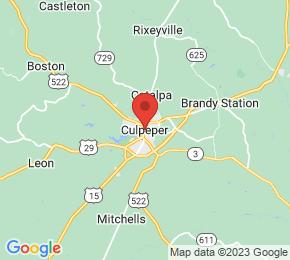 Job Map - Culpeper, Virginia  US