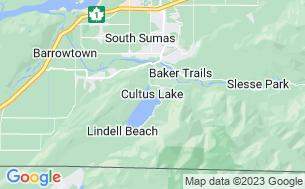 Map of Thousand Trails-Cultus Lake
