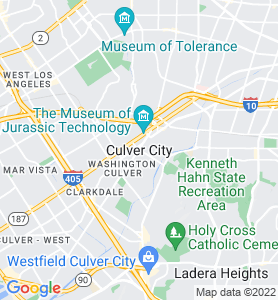Culver City CA Map