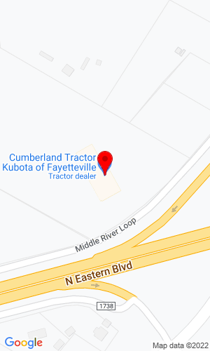 Google Map of Cumberland Tractor & Equipment Inc. 3570 Dickerson Road, Nashville, TN, 37207