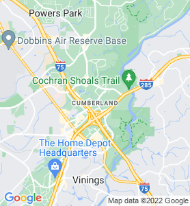 Cumberland GA Map