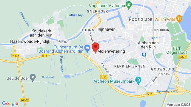 Alphen+aan+den+Rijn op Google Maps