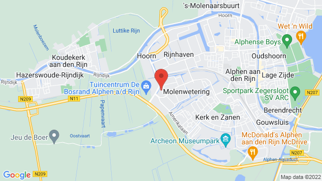 Motorhuis+Alphen op Google Maps