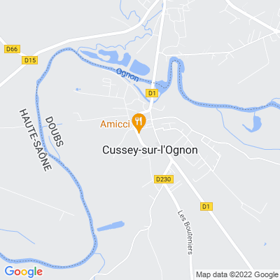 bed and breakfast Cussey-sur-l'Ognon