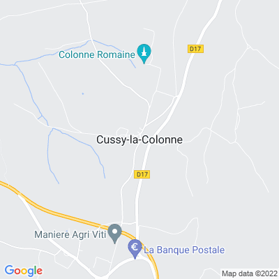 bed and breakfast Cussy-la-Colonne