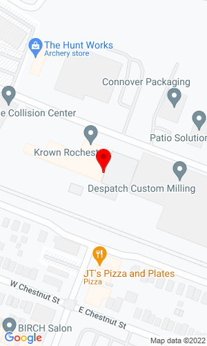 Google Map of Custom Truck Creations Inc. 130 Despatch Drive, East Rochester, NY, 14445