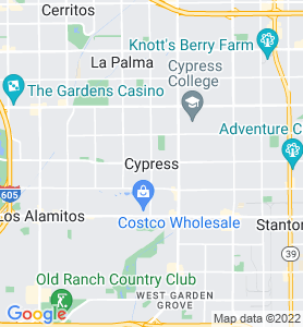 Cypress CA Map