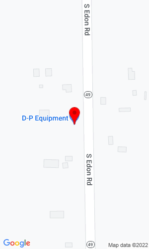 Google Map of D-P Equipment Co 10700 S Edon Rd, Camden, MI, 49232