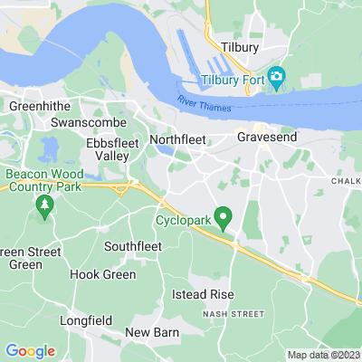 Wombwell Park, Gravesend Location