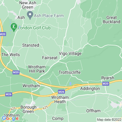 Trosley Country Park, Trottiscliffe Location
