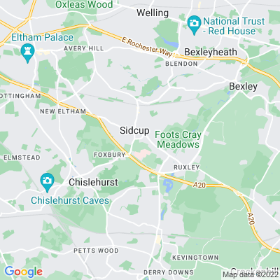 Green, The, Sidcup Location