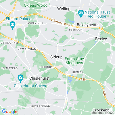 Sidcup Place Location