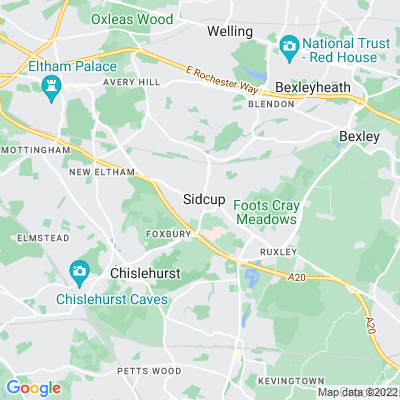 Crescent, The, Sidcup Location