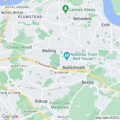 Danson Park Location