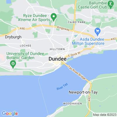 Peace Garden, Dundee Location