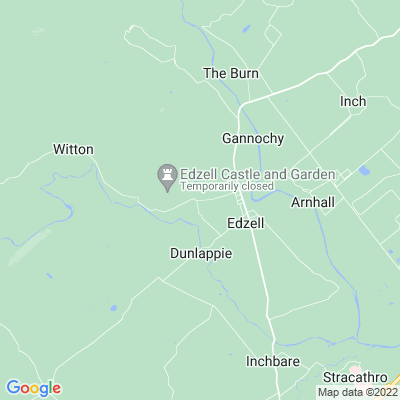 Edzell Castle Location