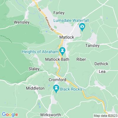 Derwent Gardens Location