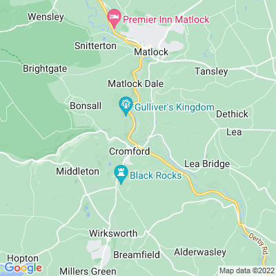 Willersley Castle Location