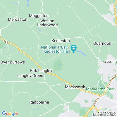Meynell Langley Location