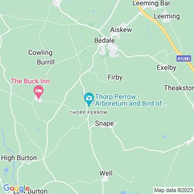 Thorp Perrow Location