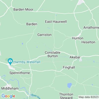 Constable Burton Hall Location