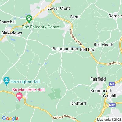 Bradford House Location