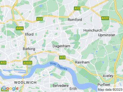 Whiplash Injury in Dagenham