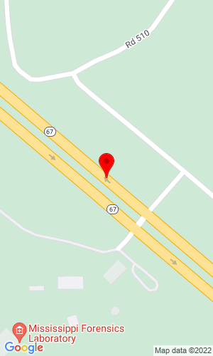 Google Map of Daily Equipment 12186 Highway 67 North, Biloxi, MS, 39532