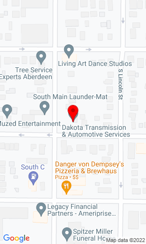 Google Map of Dakota Transmission & Auto Repair Inc. 6975 W 146th Street, Apple Valley, MN, 55124,