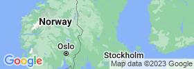 Dalarna map