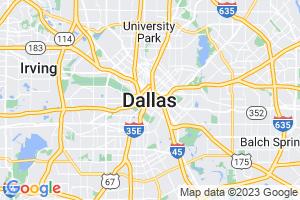 Google Map of Dallas, TX