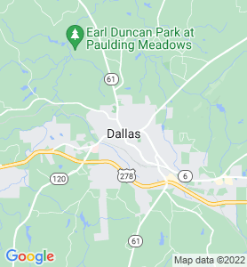 Dallas GA Map