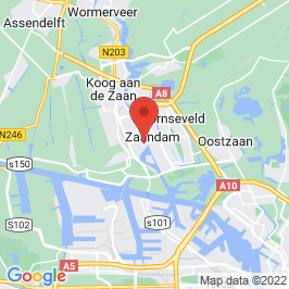 Google map of Flamingo Casino,Zaandam