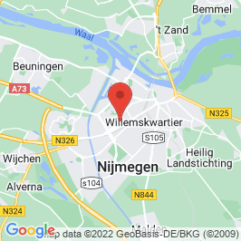 Google map of Daniëlskerk, Nijmegen