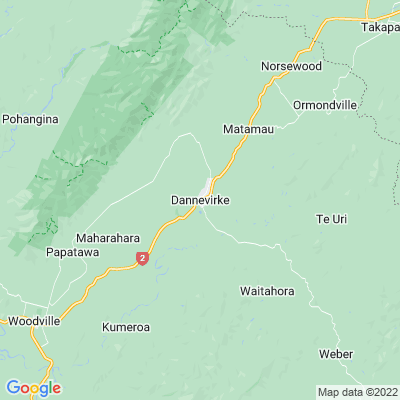 Dannevirke   Locations   NGTC