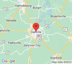 Job Map - Danville, Kentucky  US