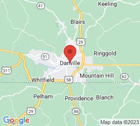 Job Map - Danville, Virginia  US