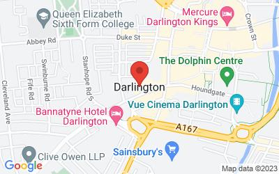 Map of Darlington Market
