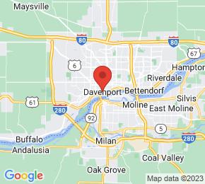 Job Map - Davenport, Iowa  US