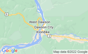 Map of Dawson City RV Park & Campground