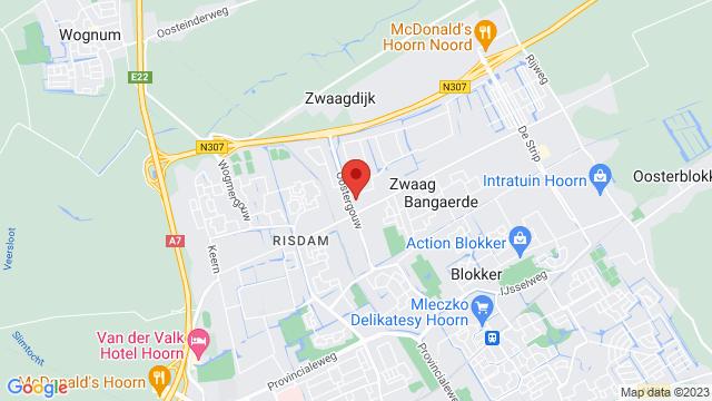 Stokman+Hoorn op Google Maps